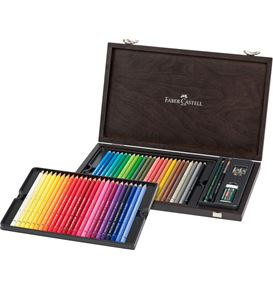 Faber-Castell - Watercolour pencil Albrecht Dürer wood case of 48