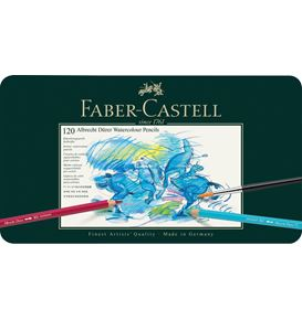 Faber-Castell - Albrecht Dürer watercolour pencil, tin of 120