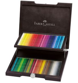 Faber-Castell - Watercolour pencil Albrecht Dürer wood case of 72