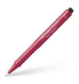 Faber-Castell - Ecco Pigment Fineliner, 0.1 mm, red
