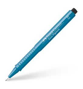 Faber-Castell - Ecco Pigment Fineliner, 0.1 mm, blue