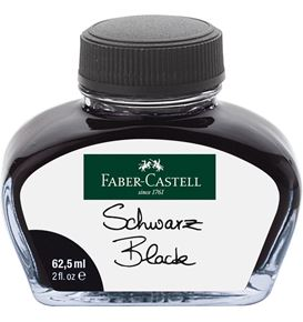 Faber-Castell - Ink glass 62,5 ml Black