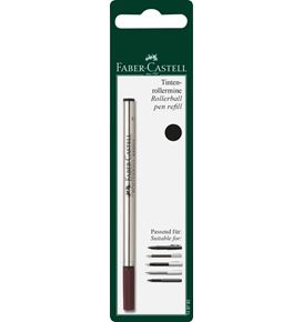 Faber-Castell - Spare refill for Fine Writing rollerball, M, black