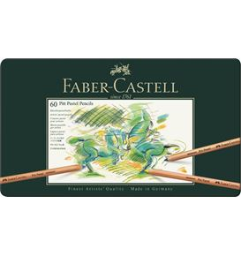 Faber-Castell - Pitt Pastel pencil, tin of 60